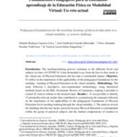 13_Fundamentos Pedagógicos para la enseñanza-aprendizaje de la Educación Física en Modalidad Virtual Un reto actual - copia.pdf